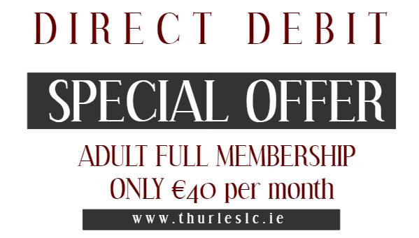 Direct Debit Membership Offer