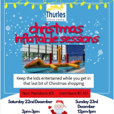 CHRISTMAS INFLATABLE SESSIONS- 22nd & 23rd Dec
