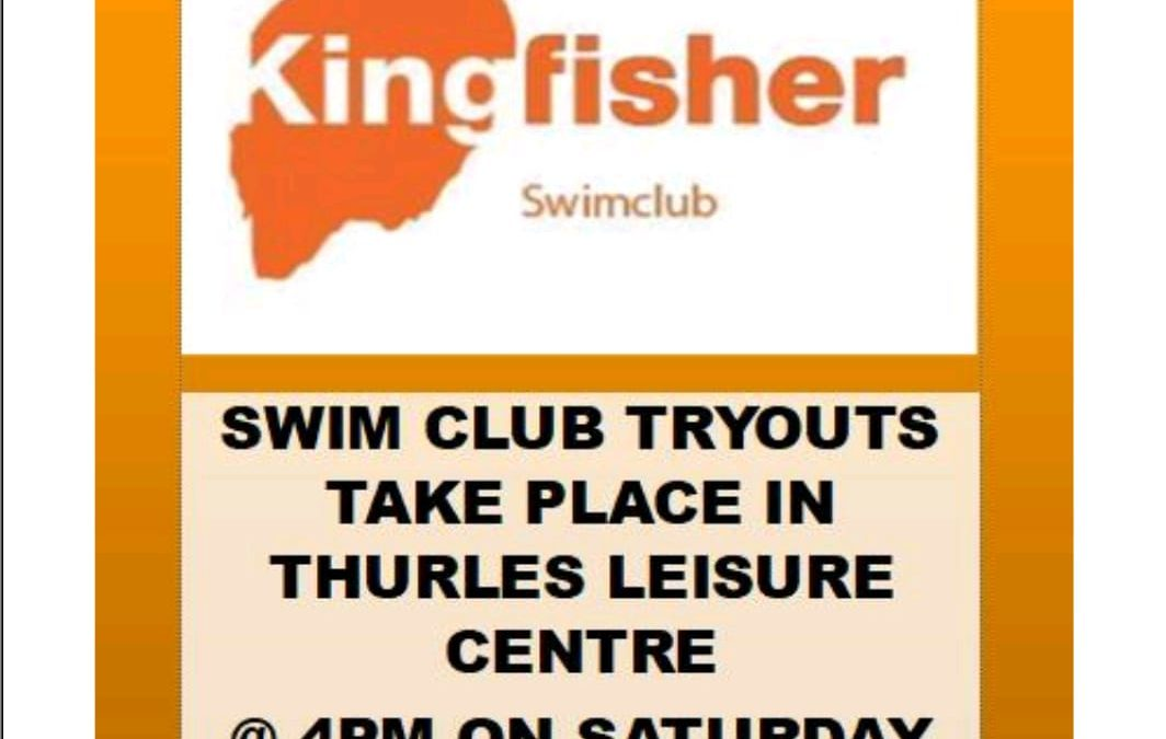 Kingfisher Swim Club Tryouts