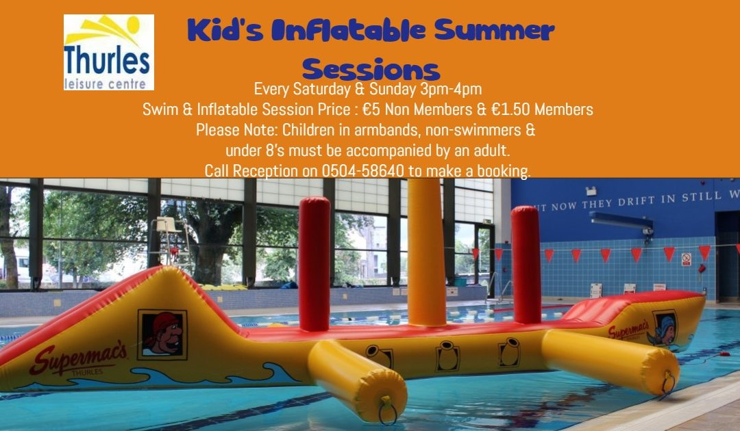 Summer Inflatable Sessions