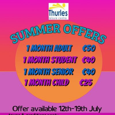 Summer 1 month offers