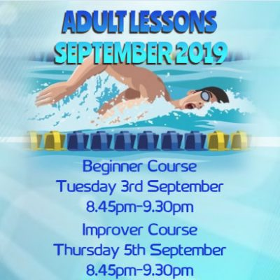 ADULT GROUP LESSONS- SEPT'19